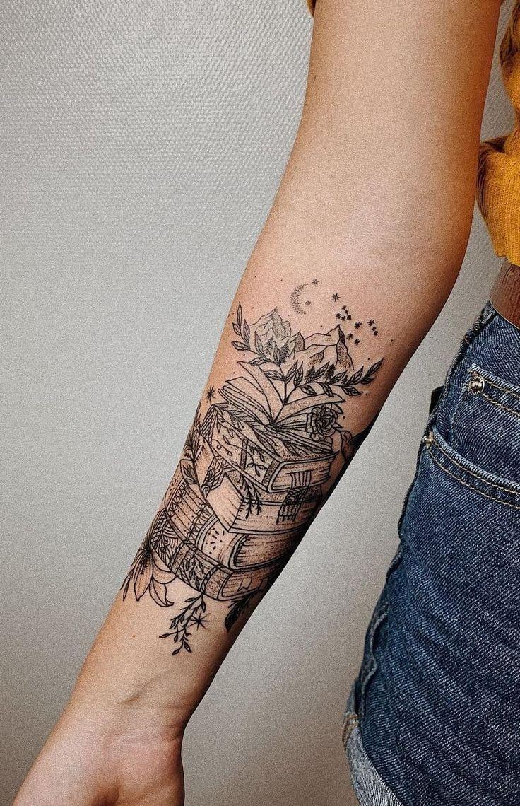 60 fotos de tatuagens de livros para quem ama ler fotos