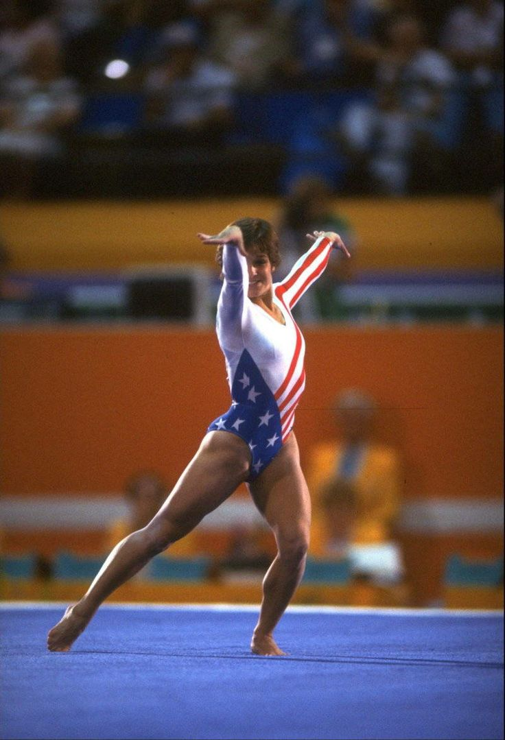 Image forward roll jpg gymnastics wiki - History Of The 1984 Olympics In Los Angeles
