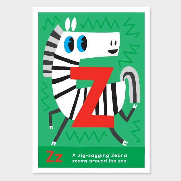 z kids art print by kissy kissy kids see http - Kid Prints