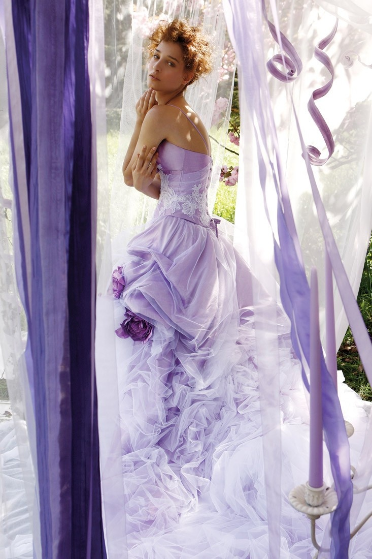 lilac wedding dress color pinterest beautiful