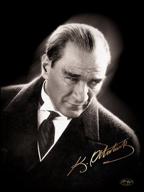 Mustafa Kemal ATATURK. First President of Turkey