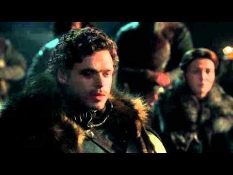 The King in the North!!Robb Stark a young wolf..