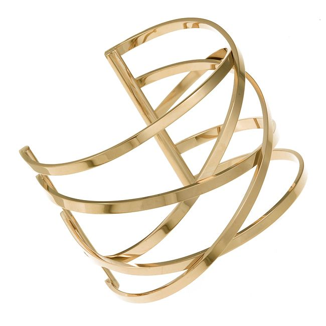 Ingnell Jewellery - Miriam bangle gold. Stainless steel. ingnelljewellery.com