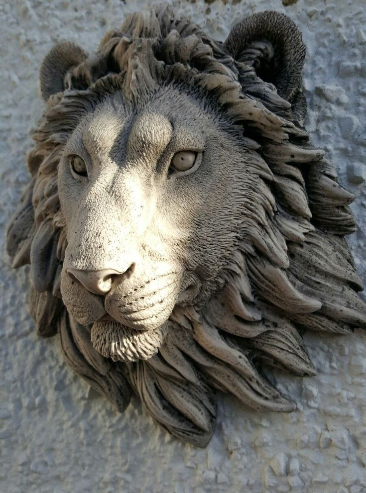 Stone Garden Animals 113 best pottery animals images on pinterest ceramic animals lion head wall plaque stone garden ornament white sand various colors available workwithnaturefo
