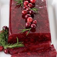 Jellied Cranberry Sauce with Fuji Apple | Just DeSSerts | Pinterest