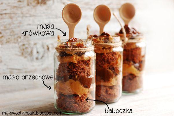 Babeczki warstwowe w słoiczku / Cakes in a Jar