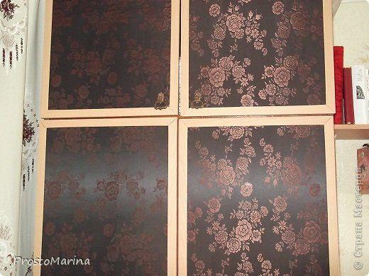 Интерьер Моя переделанная мебель Ткань фото 10