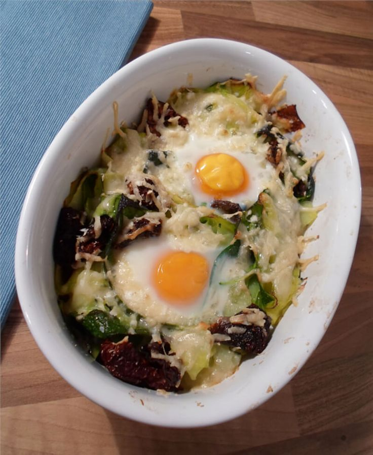 Traumhafter Zoodle Auflauf (Low Carb)