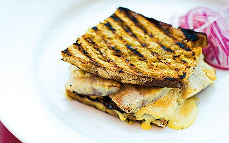 Jeremy Lee recipe: Smoked eel sandwich for one person
