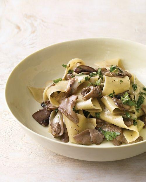 Mushroom Pappardelle with Taleggio Cheese - Martha Stewart Recipes