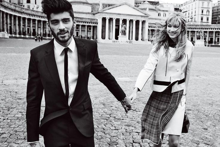 Gigi Hadid and Zayn Malik's Vogue Photoshoot Will Leave You Breathless | Fashion District