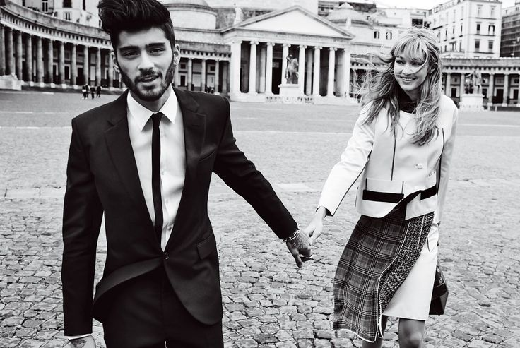 Gigi Hadid and Zayn Malik's Wanton Weekend in Naples