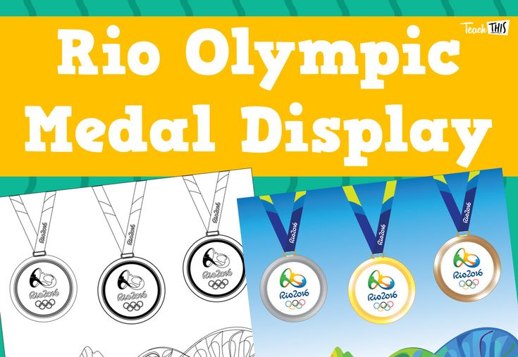 Rio Olympic Medal Display
