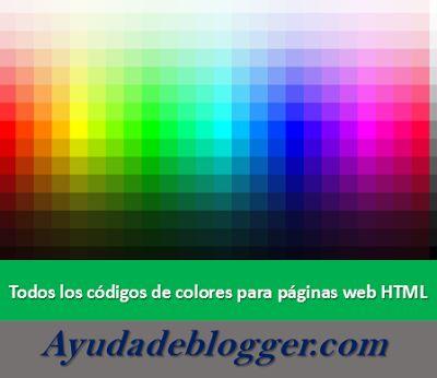 The 25+ best Codigos html colores ideas on Pinterest Codigo de - html color code chart