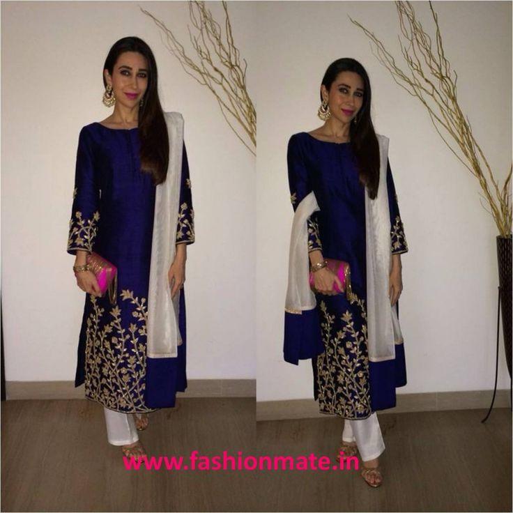 Get this look – Karishma Kapoor in Shruti Sheth outfit!