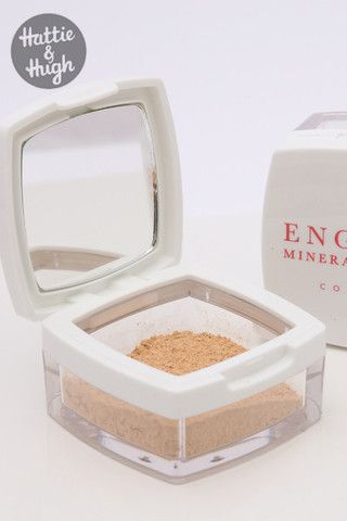 English Mineral Makeup Company Mineral Foundation at Hattie & Hugh