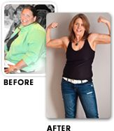 Angela Angie Mooij Before and After Visalus