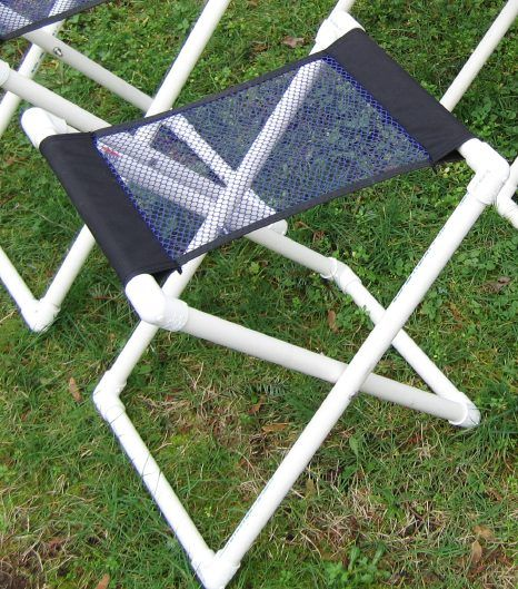 DIY - easy to make PVC collapsible seat