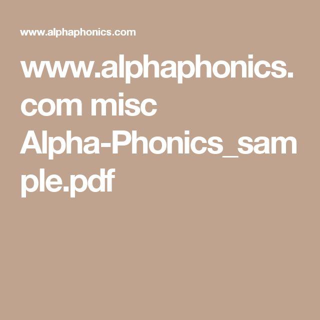 www.alphaphonics.com misc Alpha-Phonics_sample.pdf