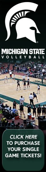 Michigan State- Volleyball Singles (Powered by Paciolan)