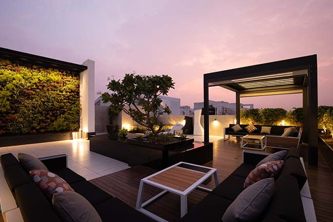 Penthouse Pafekuto By Conarch Architects Rooftop Terrace Design Roof Terrace Design Roof Garden Design