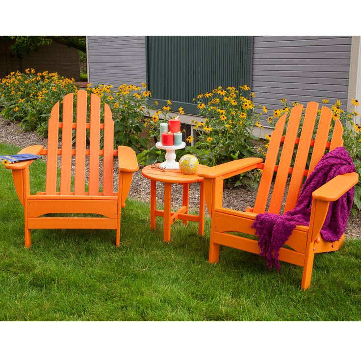 PolyWood Delivers With Its Popular Adirondack Chair! A Classic  Beach/poolside Seating Option, Part 98