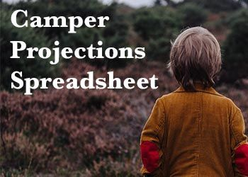 How doyou know how many campers you'll have this summer? To do projections, you'll need a spreadsheet. DON'T FREAK OUT — we're in this together!You'll also need the following information fo…
