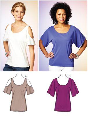 KwikSew 3880 Shirt XS-S-M-L-XL 4-22 (30-48) | Näh-To-Do | Pinterest ...