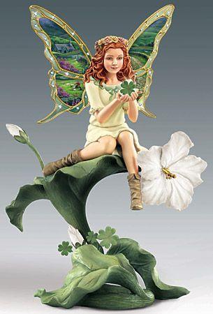 Emerald Isle - Enchanted Wings Garden Fairy