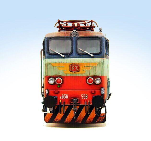 Fs E 656. 558 Rivarossi.