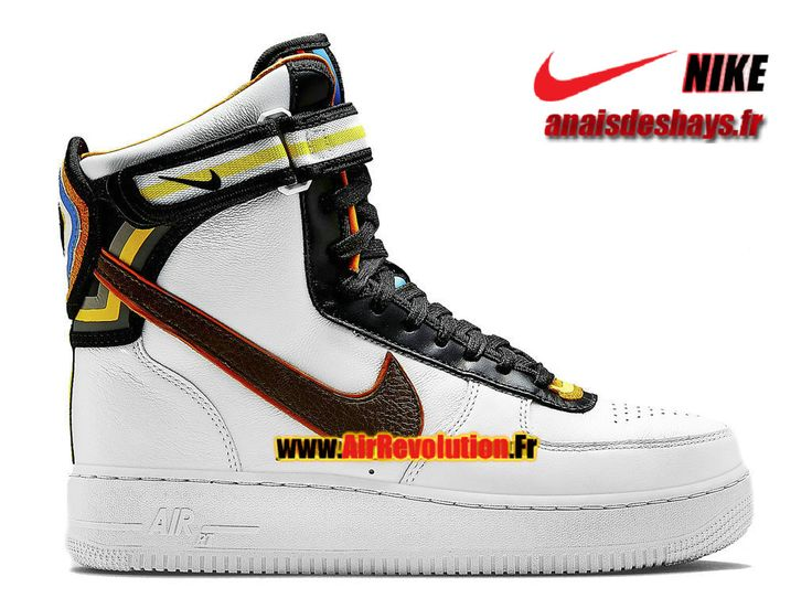 Boutique Officiel Nike X Riccardo Tisci Air Force 1 RT Hi (GS) Femme/Enfant Blanc/Brun baroque 669919-120G