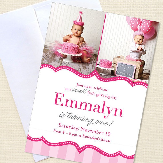 Pretty in Pink party  Set of 15 custom photo by chickabug on Etsy, $30.00