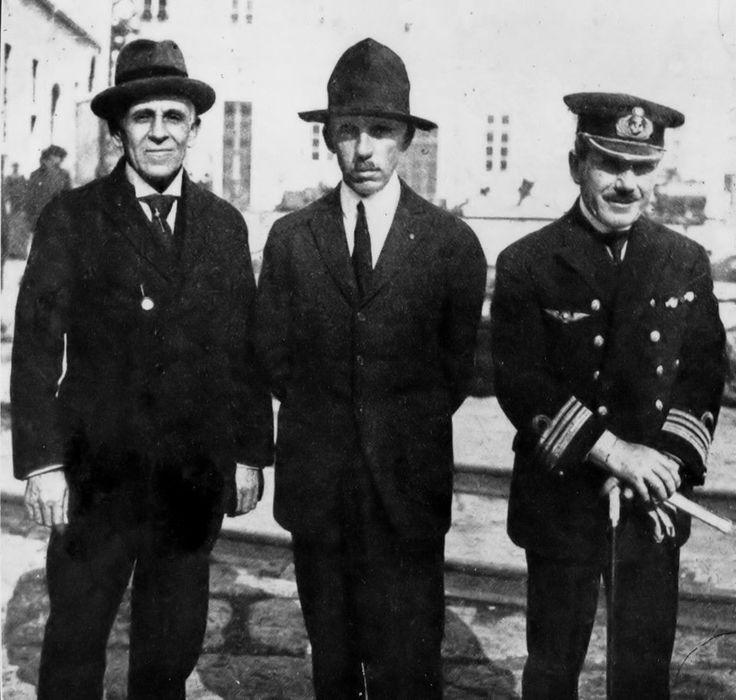 Gago Coutinho, Santos Dumont and Sacadura Cabral, Lisbon 1923