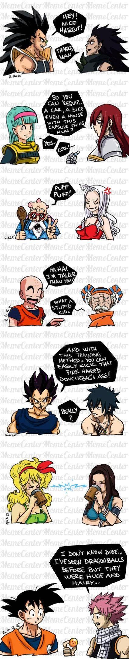 Tags: Anime, DRAGON BALL, Vegeta, Son Goku (DRAGON BALL), FAIRY TAIL