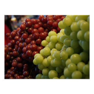 11 Rode & 11 Groene druiven = 130 gram = 100 kcal