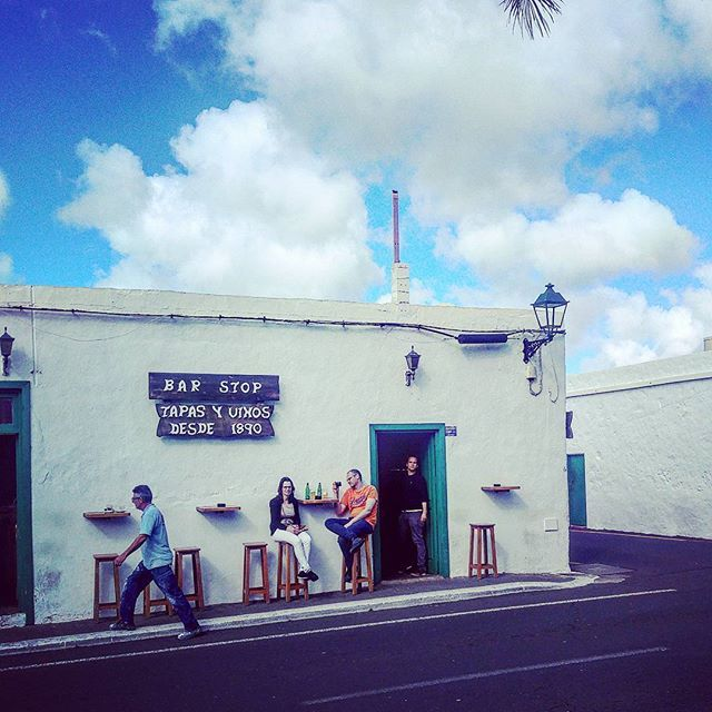 If you're looking for authenticity, don't miss Bar Stop in Yaiza, Lanzarote, Canary Islands #foodtravel