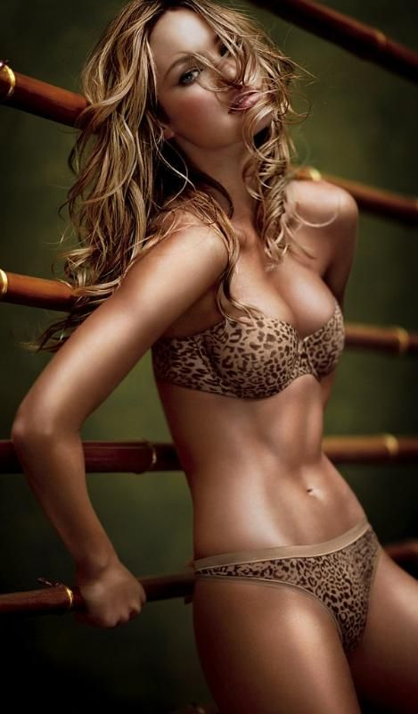 Candice Swanepoel ♥ - her body is ok I guess