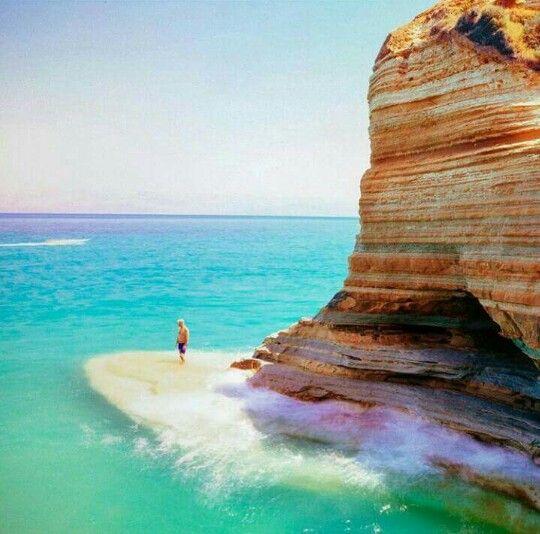Sidari, Corfu island, Greece