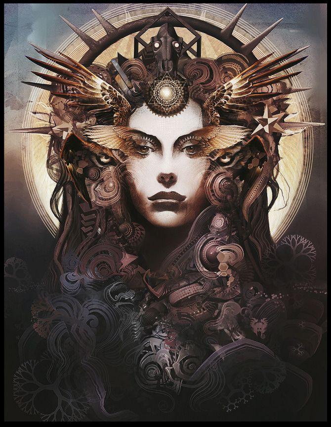 Android Jones / Sacred Geometry <3