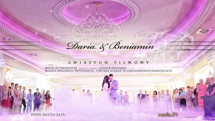 Media 24, Restauracja Eureka, Ślub Daria & Beniamin   #media-24 #ślub #wedding #wesele #film #ślubny #teledysk