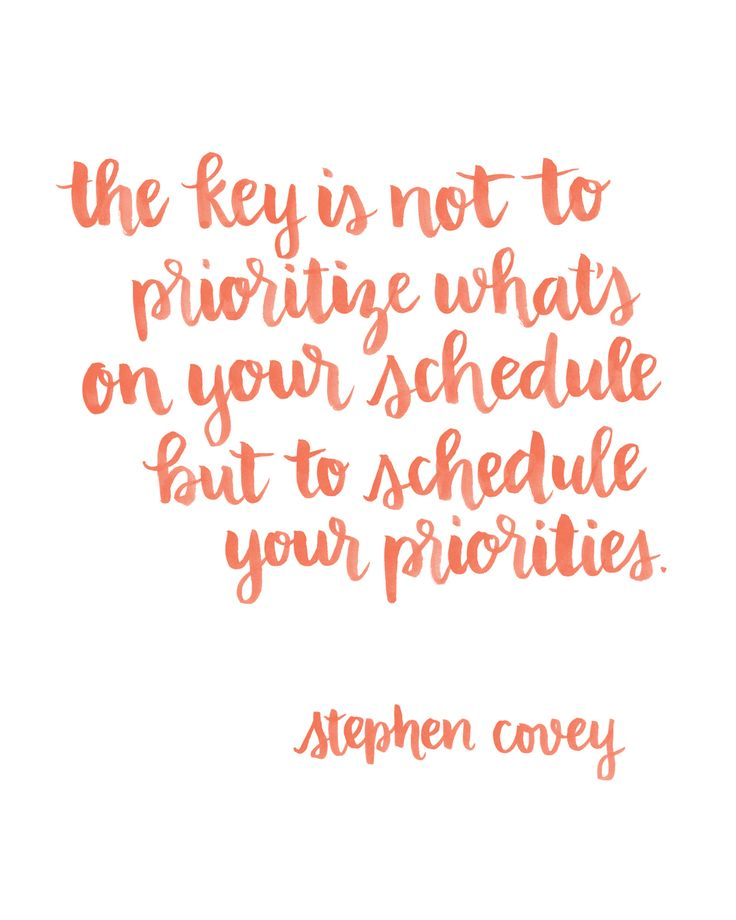 Presents for You: Brush Lettered Covey Quote | Random Olive