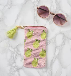 Com este padrão de ChabeGS você vai ver como fazer lentes de lentes Crochet ...
