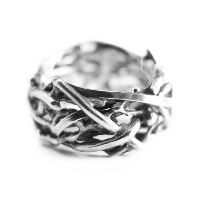 Silver ring/ SHULE jewelry.