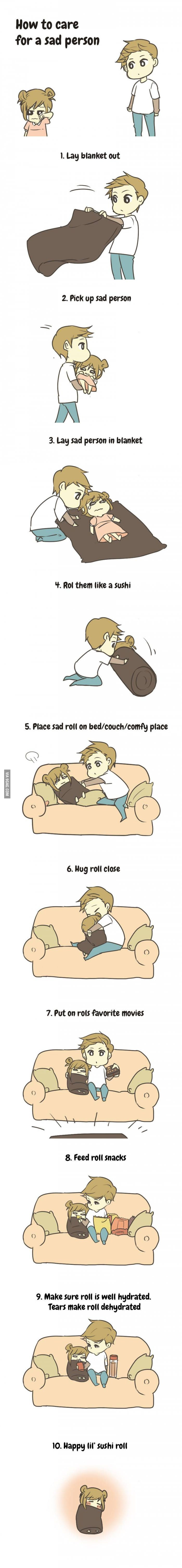 How to cure Depression - 9GAG