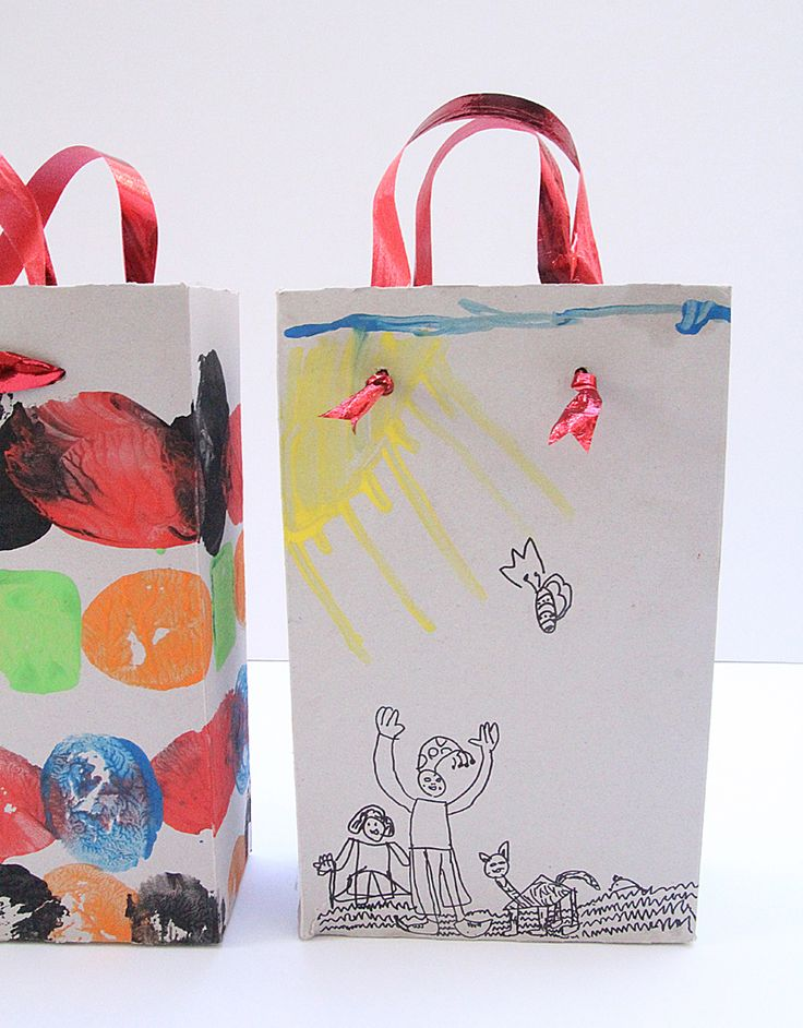 Cereal Box Gift Bags