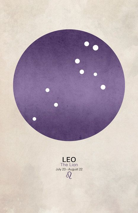 Leo Art Constellation Poster by cegphotographics on Etsy