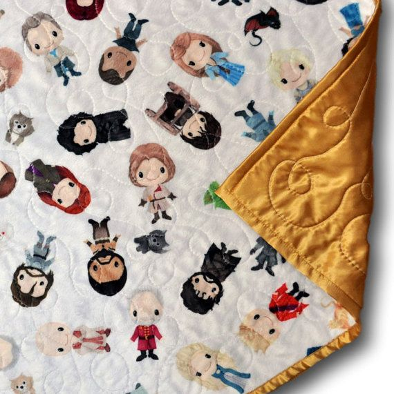 Game of Thrones Quilt Game of Thrones by OutOfCharacterQuilts