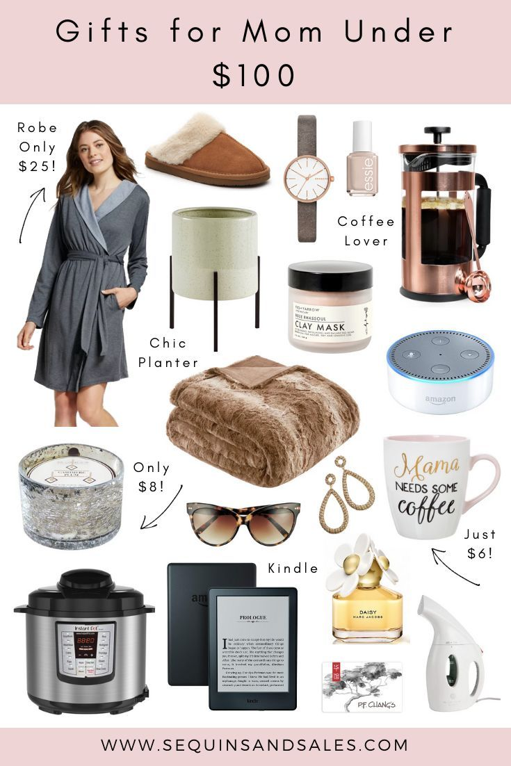Mom Over 60 Christmas 2020 Holiday Gift Guide   Gifts for Mom Under $100   Sequins and Sales