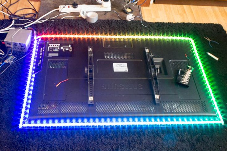 Make Your Personal Ambilight for $60