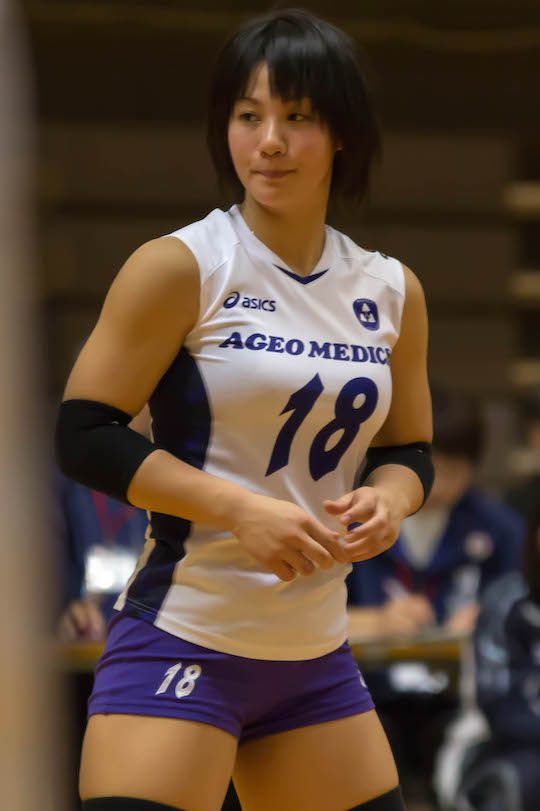 Shiho Yoshimura Volleyball | Japan's female volleyball sports players are too hot to watch the ...